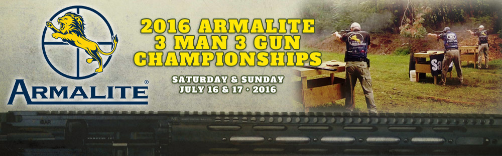 Armalite 3 Man 3 Gun Championships