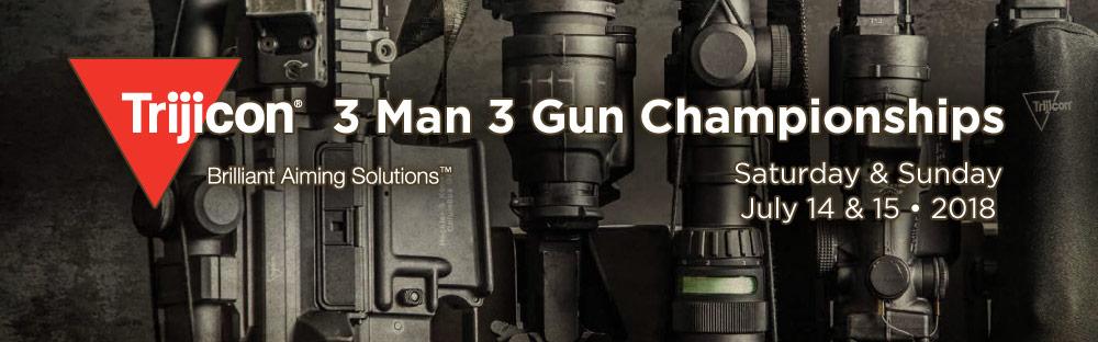 2018 Trijicon 3-Man 3-Gun Match